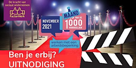 Rode Loper event Sociaal OndernemenWERKT! powered by WSP FactorWerk tickets