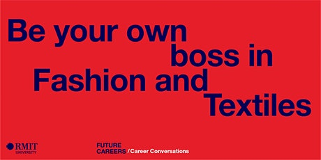 Be your own boss in Fashion and Textiles biglietti