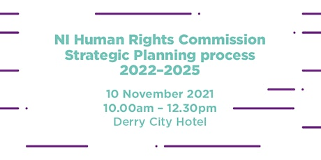 *Derry/Londonderry* Strategic Planning Roundtable tickets
