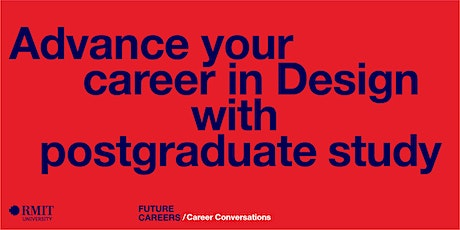 Advance your career in Design with postgraduate study tickets