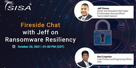 Fireside Chat with Jeff on Ransomware Resiliency tickets