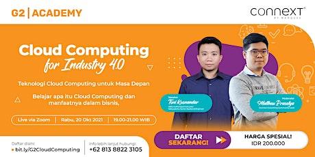 Cloud Computing for Industry 4.0 biglietti