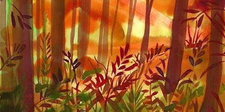 Autumn Watercolours (online class) tickets