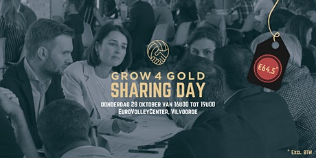 Grow 4 Gold Sharing Day tickets