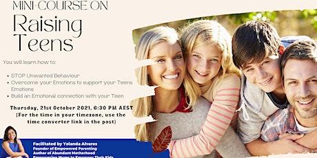 Mini-Course on Raising Teens tickets