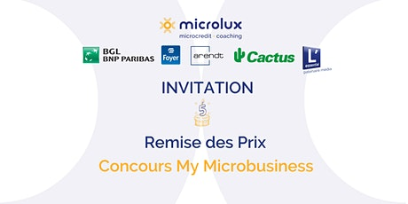 Concours My Microbusiness-Remise des prix tickets