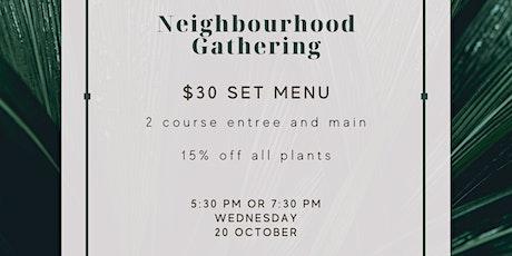 Neighbourhood Gathering at Blake Hill tickets