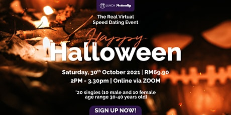 Singles Virtual Halloween event tickets