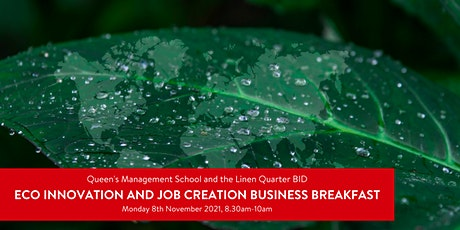 Eco Innovation and Job Creation Business Breakfast tickets