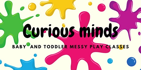 Halloween special- baby and toddler messy play experience tickets