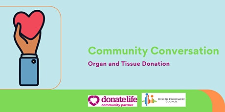 Organ and tissue donation - CaLD youth community conversation tickets