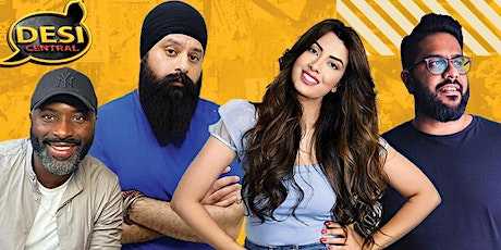 Desi Central Comedy Show - Camberley tickets