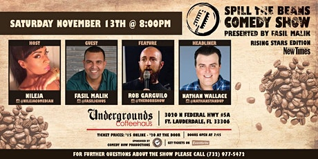 Spill The Beans Comedy Show tickets
