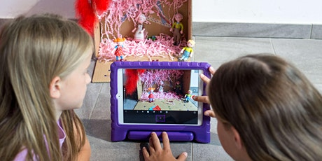 Family-Workshop Digital Art: Stop Motion Tickets