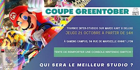 Tournoi Mario Kart 8 - Coupe Greentober billets