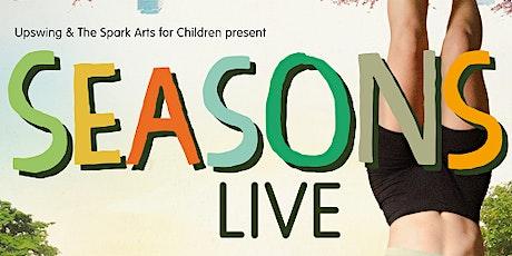 "Upswing present ""Seasons"" - at Kensington Central Library tickets"