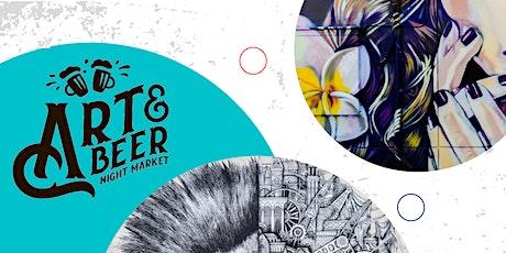 Art & Beer Night Market Austin! tickets