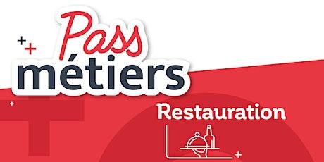 Pass Métiers : Les métiers de la Restauration billets