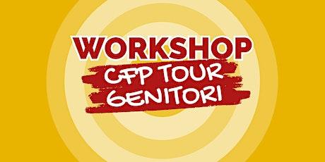 """WORKSHOP CFP CNOS-FAP """"FALCK"""" - TOUR GENITORI  2021/22 biglietti"""