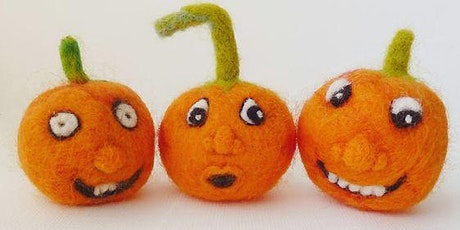 Pumpkin Needle Felting Workshop: Arty Farty Half Term tickets