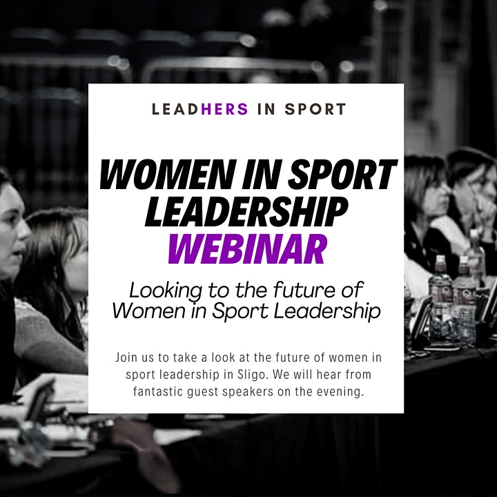 Webinar - Looking to the future of Women in Sport Leadership image