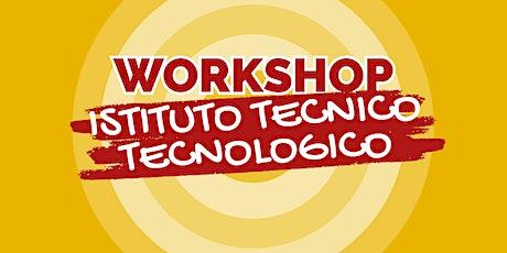"""WORKSHOP SS2G """"BREDA"""" - ISTITUTO TECNICO TECNOLOGICO 2021/22 biglietti"""