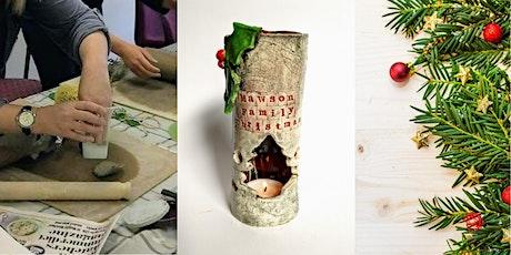 Christmas Ceramic handbuilding workshop tickets