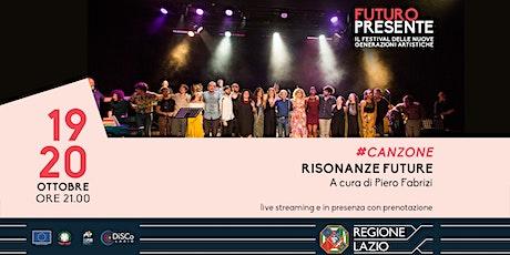 Risonanze future - A cura di Piero Fabrizi tickets