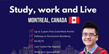 Study, work and live in Canada -TREBAS INSTITUTE tickets