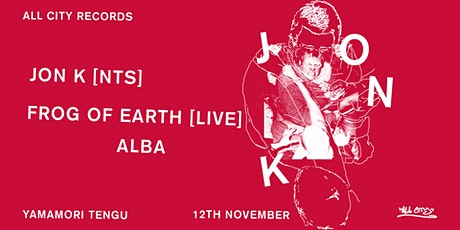 All City presents: Jon K & Frog of Earth (Live) tickets