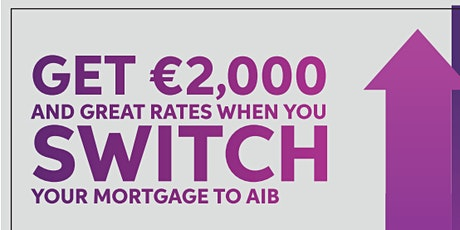 Copy of AIB Mortgage Switch and Save Masterclass tickets