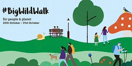 Big Wild Walk - Guided Wellbeing Walk from Derby City Centre to Darley Park tickets
