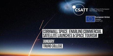 Cornwall Space: Enabling Commercial Satellite Launches & Space Tourism tickets