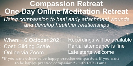 Compassion: One Day Meditation Retreat tickets