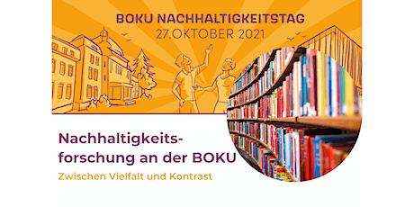 BOKU NHTag: Nachhaltigkeitsforschung BOKU - zwischen Vielfalt & Kontrast Tickets