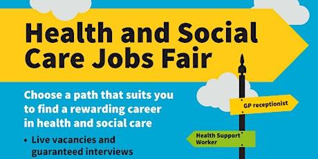 Health and Social Care Job Fair October 2021 tickets