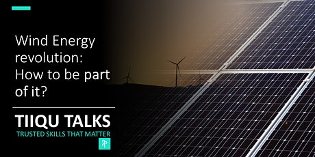 Wind energy revolution: How to be a part of it? tickets