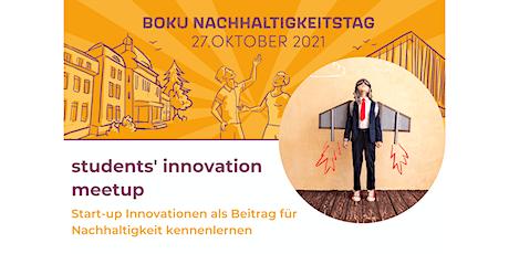 BOKU Nachhaltigkeitstag: students' innovation meetup Tickets