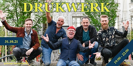 Drukwerk (Live) - Skatecafe (31 Oktober 2021) tickets