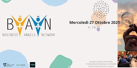 BUSINESSANGELS.NETWORK - Quarto Incontro Startup 2021 + Presentazione libro biglietti