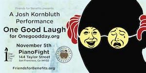 Friends for Benefits Presents: Josh Kornbluth, A...