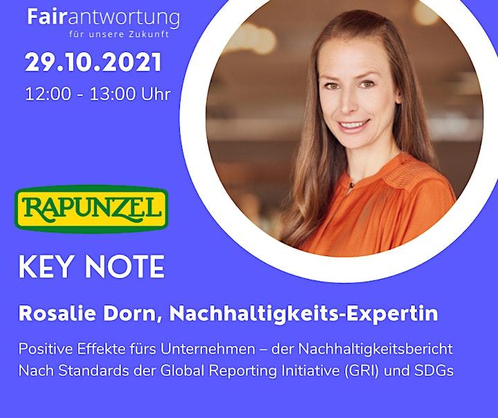 Fair2gether: Positive Impulse zum nachhaltigen Wirtschaften m. Rosalie Dorn: Bild