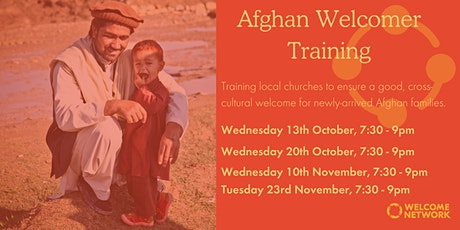 Afghan Welcomer Training tickets