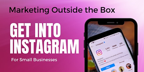 Get into Instagram for Small Business tickets
