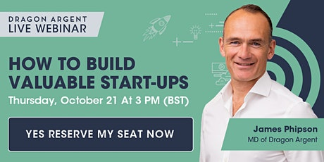 Startup Event: How to build valuable start-ups tickets