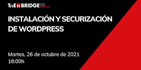 Taller Ciberseguridad: Instalación y securización de Wordpress tickets