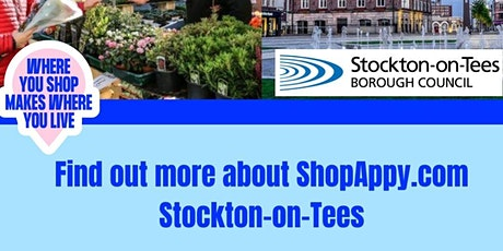 Find Out More about the launch of ShopAppy.com in Stockton-on-Tees! tickets