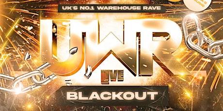 Uni Warehouse Rave Blackout tickets