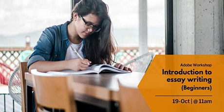 Introduction to essay writing (beginners) (11:00 - 12:00) tickets