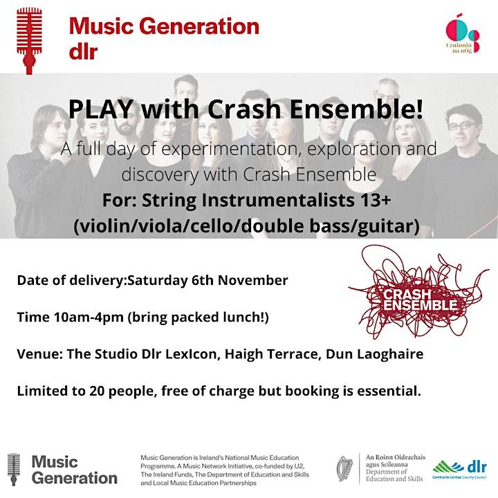 Music Generation dlr  presents - PLAY with Crash Ensemble image